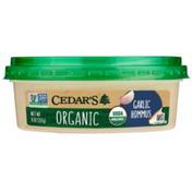 Cedar's Foods Organic Garlic Hommus