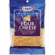Kraft Shredded Cheese, Four Cheese