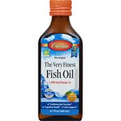 Carlson Labs Fish Oil, The Very Finest, Orange Flavor, Norwegian