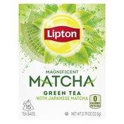 Lipton Tea Bags Japanese Matcha