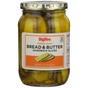 Hy-Vee Bread & Butter Sandwich Slices