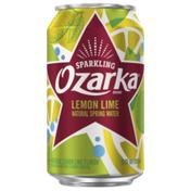 Ozarka Sparkling Water, Lemon Lime