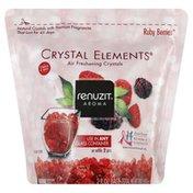 Renuzit Air Freshening Crystals, Ruby Berries