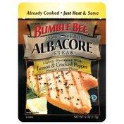 Bumble Bee Prime Fillet Lightly Marinated W/Lemon & Cracked Pepper Albacore Steak