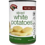 Hannaford No Salt Added Sliced White Potatoes