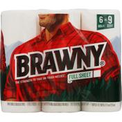 Brawny Paper Towels, Full Sheet, 2-Ply