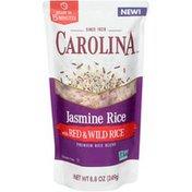 Carolina Jasmine Rice with Red & Wild Rice Premium Rice Blend