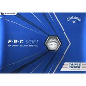 Callaway Golf Balls, Premium, E-R-C Soft, Triple Track Technology