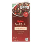 Hy-Vee Beef Reduced Sodium Broth