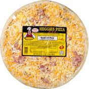 Heggies Pizza Pizza, Thin Crust, Breakfast Pizza
