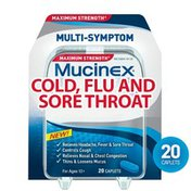 Mucinex® Fast-Max Adult Cold, Flu and Sore Throat Caplets