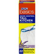 Hefty Lavender Scented Odor Control 13 Gallon Tall Kitchen Drawstring Trash Bags