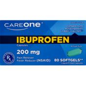 CareOne Ibuprofen Softgels 200 mg