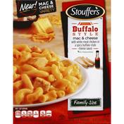 Stouffer's Mac & Cheese, Buffalo Style, Medium Spicy, Family Size