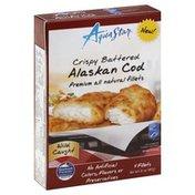 Aqua Star Alaskan Cod, Crispy Battered