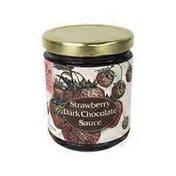 Tait Farm Foods Sauce, Strawberry, Dark Chocolate