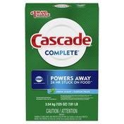 Cascade Powder Dishwasher Detergent, Fresh Scent