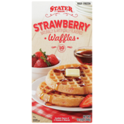 Stater Bros Strawberry Waffles