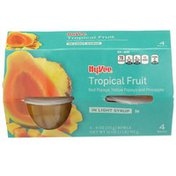 Hy-Vee Tropical Fruit In Light Syrup