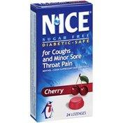 Nice Cherry Flavor Sugar Free Cough Lozenges
