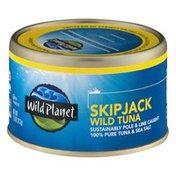 Wild Planet Skipjack Wild Tuna 100% Pure Tuna & Sea Salt
