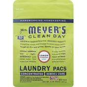 Mrs. Meyer's Clean Day Laundry Pacs, Lemon Verbena Scent