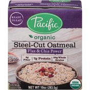 Pacific Organic Flax & Chia Power Steel-Cut Oatmeal