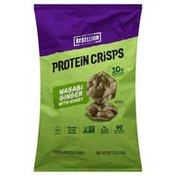 Protein Crisps Popped, Wasabi Ginger with Honey