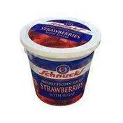 Schnucks Freshly Frozen Sliced Strawberries With Sugar