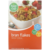Food Club Bran Flakes Wheat Cereal
