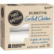 El Monterey Three Bold Brothers Grilled Chicken Premium Burritos Three Bold Brothers Grilled Chicken Premium Burritos