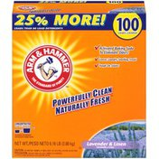 Arm & Hammer Lavender & Linen 100 Loads Powder Laundry Detergent