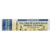 Badger Balm, with Cocoa Butter, Tea Tree & Lemon
