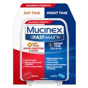 Mucinex® Fast-Max Adult Day and Night Severe Congestion & Cough / Cold & Flu
