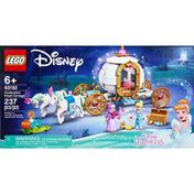 LEGO Building Toy, Cinderella's Royal Carriage, 237 Pieces, 6+