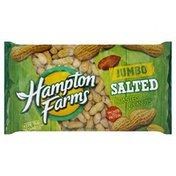Hampton Farms Peanuts, Salted, Jumbo, Roasted