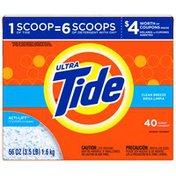 Tide Ultra Powder Clean Breeze Scent Laundry Detergent