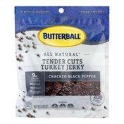 Butterball Tender Cuts Turkey Jerky Cracked Black Pepper
