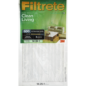 Filtrete Air Cleaning Filter, Electrostatic, Dust Reduction
