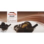 Manischewitz Macaroons, Coconut, Dark Chocolate Covered