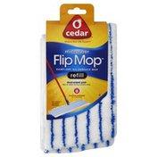 O Cedar Mop Refill, All-Surface, Damp/Dry, Microfiber, Sleeve
