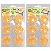 "Citrus Magic Odor Control ""Paws"" For Litter"