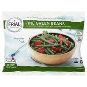 Frial Green Beans, Fine, Frozen, Vegetarian, Bag