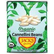 Jack's Quality Cannellini Beans, Organic , Low Sodium