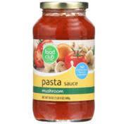 Food Club Mushroom Pasta Sauce