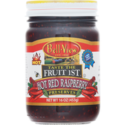 Bell-View Preserves, Hot Red Raspberry
