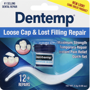 Dentemp Loose Cap & Lost Filling Repair
