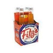 Fitz's Caffeine Free Premium Orange Cream Soda