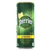 PERRIER Lemon Sparkling Water
