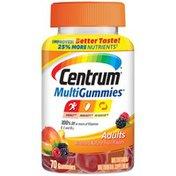Centrum Adults MultiGummies Multivitamin Multimineral Supplement Gummies